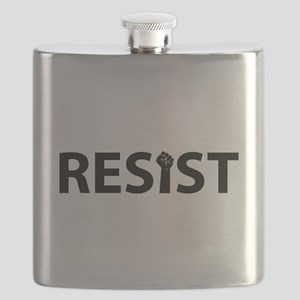 Resist With Fist Flask